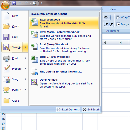 how to add a refresh button in excel 2007