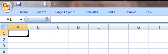 Excel 2007 Ribbon