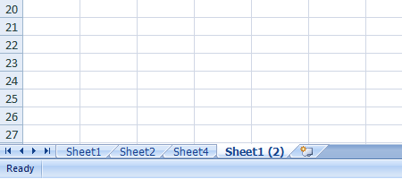 Excel 2007 Worksheet Copy