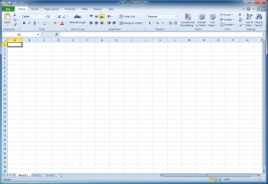 Microsoft Excel 14.0