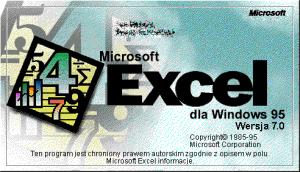 Microsoft Excel 7.0