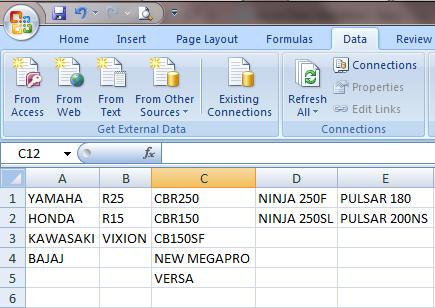 data validation in excel 2007 pdf