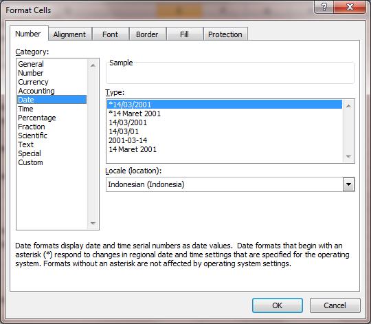 Excel 2007 Format Number