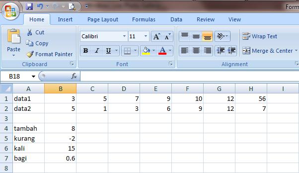 Excel_2007 Formula dan Fungsi