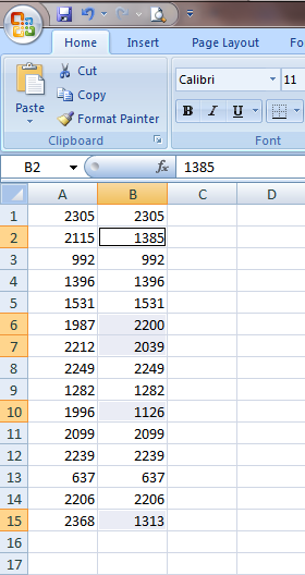 Excel 2007 Go To Special