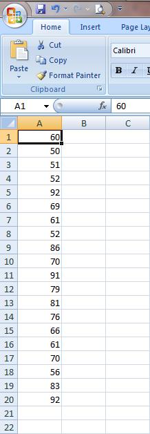 Excel 2007 Fungsi Statistik