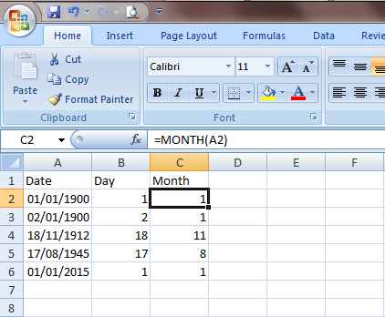 Excel 2007 Fungsi Tanggal dan Jam