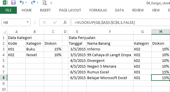 rumus fungsi vlookup dengan data table_array dinamis 02