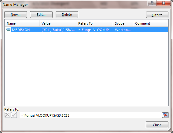 rumus fungsi vlookup dengan data table_array dinamis 06