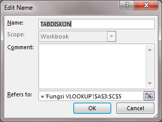 rumus fungsi vlookup dengan data table_array dinamis 07