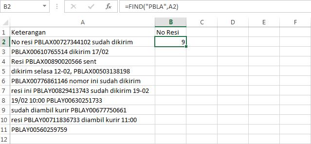 Mengurai Data Terpola didalam Data Acak